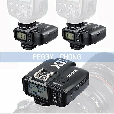 Godox X1N i-TTL Wireless Flash Transmitter +2x Receiver Trigger Set For Nikon【US