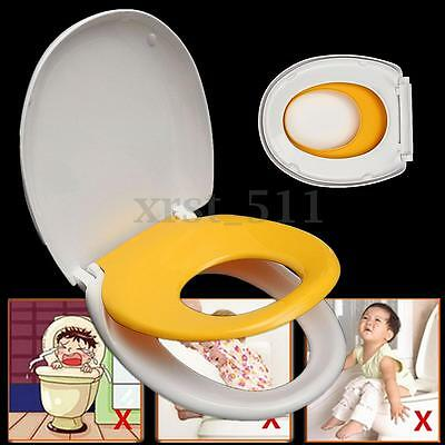 Dual Toilet Seat Ring Cover Kids Child Toddler Adult Home Family Potty Training