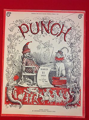 Vintage : PUNCH Magazine : 11th March 1953