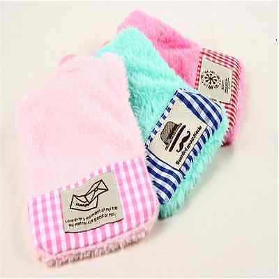 Outdoor Mini Cartoon Patterns Cover Cute Water Bag Washable Warm Plush =G