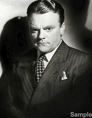 James Cagney Film Actor Glossy Black & White Photo Picture Print A4