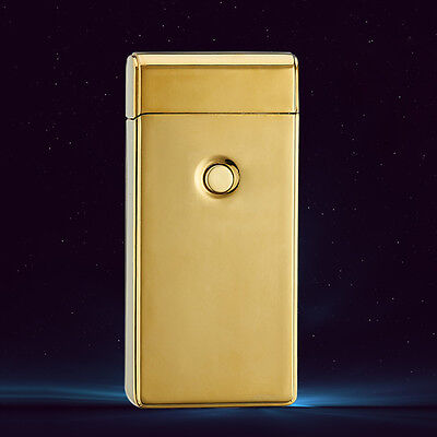 Electric Rechargeable Lighter Dual Arc Flameless USB Cigarette Windproof Lighter