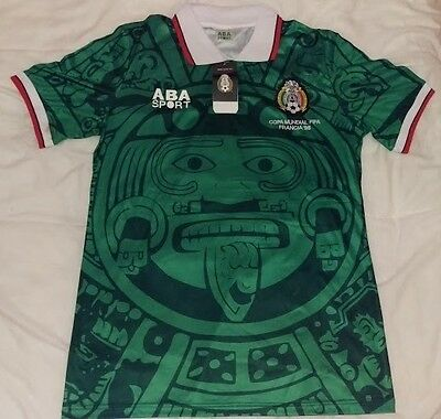 Mexico World Cup 1998 retro soccer jersey Size: Extra Large