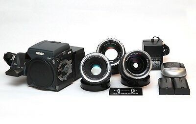 Sinar Hy6 + Emotion 75 w/ 50mm, 80mm and 150mm (Located in EU)