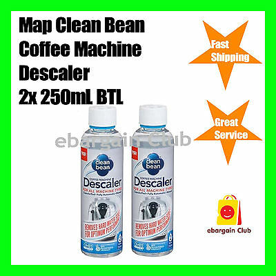 Map Clean Bean Capsule Coffee Machine Descaler Pod Caffitaly 4 doses 2x250ml