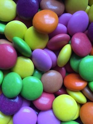 1kg Milk Chocolate Beans Assorted Colours Retro Sweets