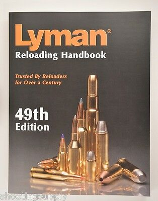 Lyman 49th Reloading Manual Paper Back Book Soft Cover 9816049