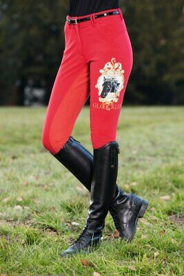 BREECHES -GOLDEN ROYAL BATCH- BY GL    CKLER by HKM - 4962 RRP $269.95