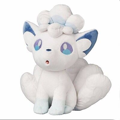 Alola Ice Vulpix Sun Moon Pokemon Center Soft Plush Toy Doll Kids Gift