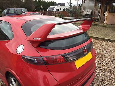 Honda Civic Mugen FN, FN2, FK Rear Boot Spoiler/Wing 2006-2011 - Brand New!