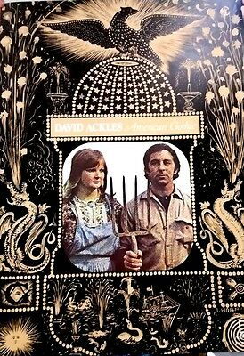 David Ackles - American Gothic.  Original 1972 Promo Only Poster.  EXC.
