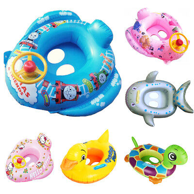 Baby Swimming Inflatable Aids Trainer Floats Cartoon Designs Rings/Vests/Bands