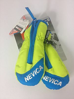 New Nevica Infant Ski Mitt Mittens Gloves with Zip 0-12 months A523-12