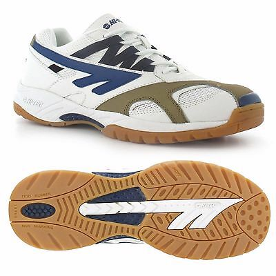 Hi-Tec S300 Squash Badminton Indoor Shoe White - CLEARANCE