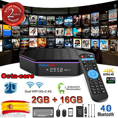 2GB+16GB T95Z Plus Android 6.0 S912 OctaCore 4K TV BOX Dual WIFI 3D Media Player