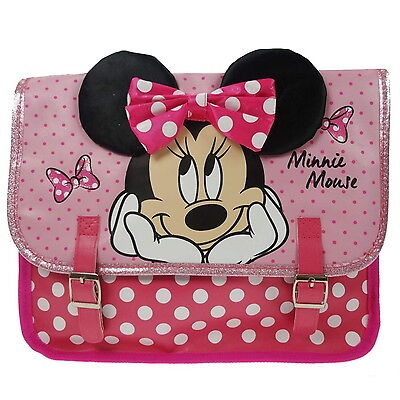 NEW OFFICIAL Disney Minnie Mouse Girls Kids Mini Nursery Satchel Shoulder Bag