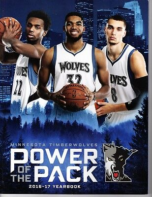 2016 2017 Minnesota Timberwolves Yearbook Anthony Wiggins Nba Finals Champions??