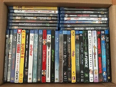 39 Shrink Wrap/Factory Sealed Assorted Blu-ray + DVD (Canadian)