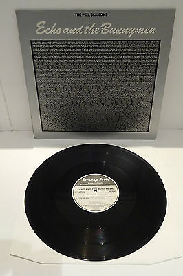 "ECHO AND THE BUNNYMEN THE PEEL SESSIONS 1988 STRANGE FRUIT 12"" 45rpm, P/S"