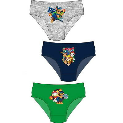 NEW OFFICIAL Paw Patrol Toddler Boys Briefs / Pants / Underwear 3-Pack