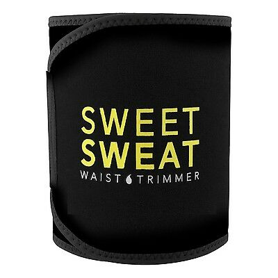 Sweet Sweat Premium Waist Trimmer for Men & Women by Sports Research - Medium