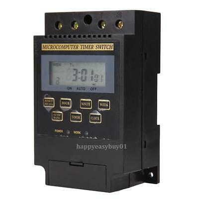 Home Office AC 220V LCD Microcomputer Timer Switch Programmable Control KG316T