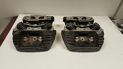 Stock Harley Davidson TC-88 Heads With Valves