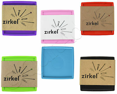 Zirkel Magnetic Organizer - Choose from 6 Colors - Pin Cushion Tools Organizer