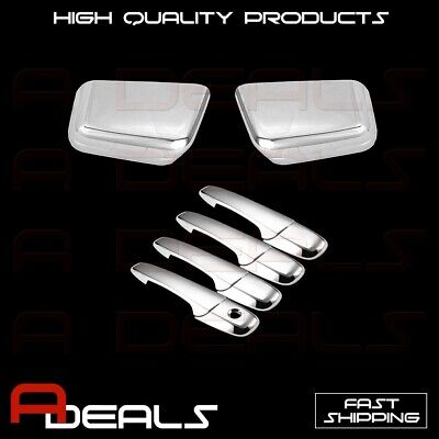 2007-2015 FORD EXPEDITION Combo 2 Mirrors 4 Door Handles W//O PSK Chrome Cover