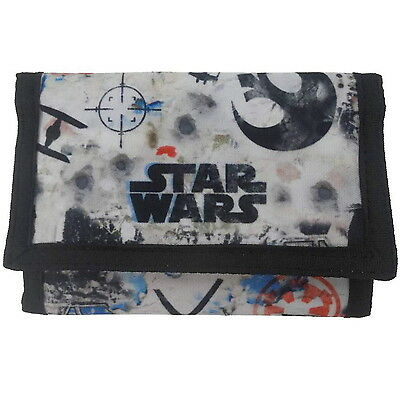 NEW OFFICIAL Star Wars Rogue One Boys / Kids Tri-Fold Coin Wallet