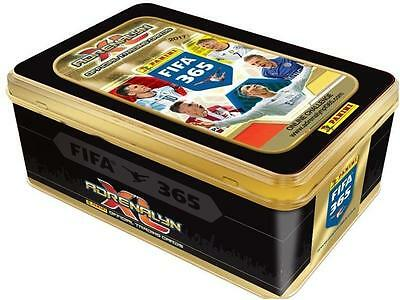 BIG TIN Panini FIFA 365 NEW 2017 10 booster + 3 limited edition + 1 Special card