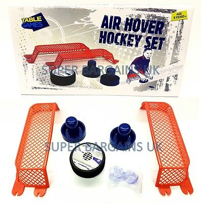 Air Hover Hockey Set Game Gift | Perfect Present | New | Uk Seller