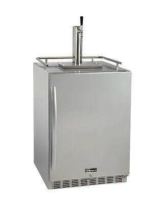 Kegco HK38SSU-1 Outdoor Built-In Kegerator w/ X-CLUSIVE Premium Dispense Kit