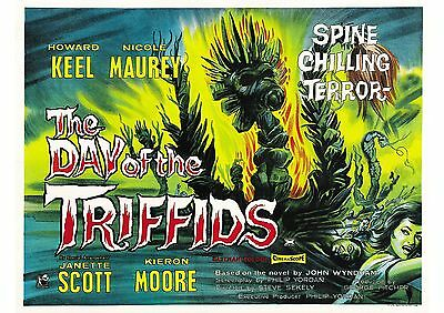 The Day of the Triffids (2) - Howard Keel - A4 Laminated Mini Poster