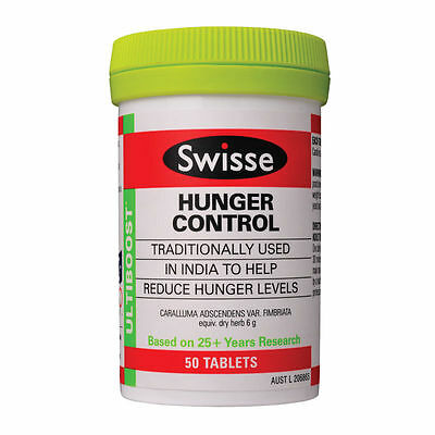 Swisse Ultiboost Hunger Control 50 Tablets *NEW*