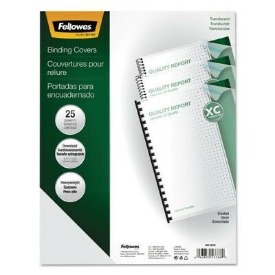 Fellowes Futura Binding System Covers Round Corners 11 1/4 x 8 3/4 Letter 9 pack