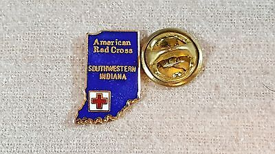 1990, Southwestern Indiana Chapter American Red Cross pin