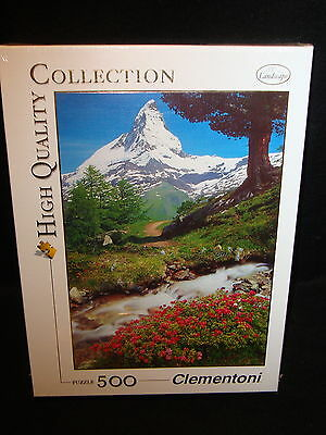 Clementoni LANDSCAPE JIGSAW PUZZLE 500 pcs High Quality Collection New Sealed