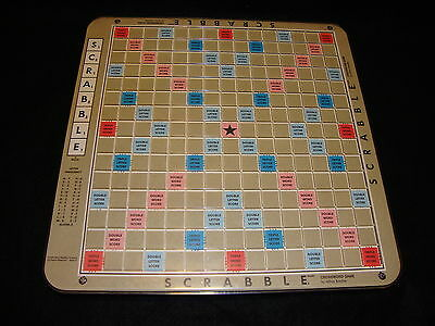 Milton Bradley 1989 DELUXE SCRABBLE ROTATING BOARD ONLY Replacement Perfect Cond