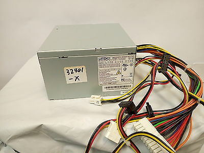 *   LITEON PS-6301-08A Dell Precision T1500 350W 24 Pin ATX Power Supply U345D