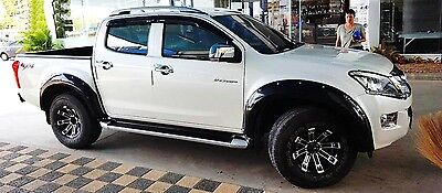 "Off-Road Isuzu All New D-Max Dmax 9"" Fender Flares Flare Wheel Arch 2012 2016 17"