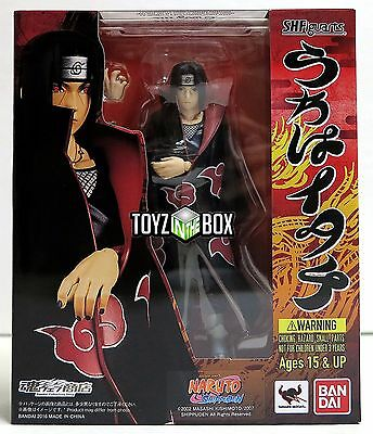 "In STOCK Bandai S.H. Figuarts ""Itachi Uchiha"" (vs Sasuke Naruto) Action Figure"
