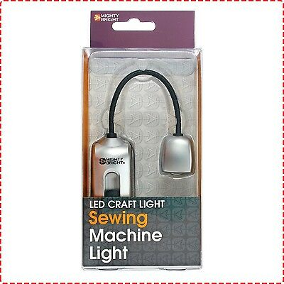 Mighty Light Attachable Sewing Machine LED Lamp - Craft Hobby Compact