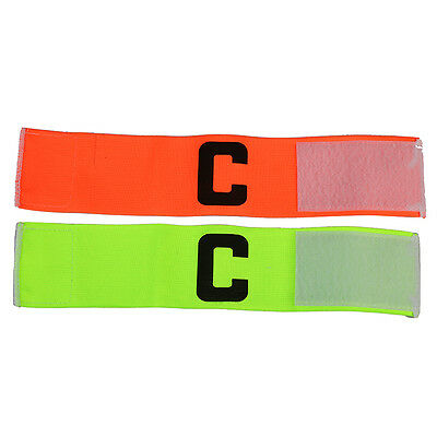 Popular Football Soccer Training Captain's Armband Bright Color Senior C Kit New