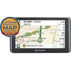 NAVMAN MY ESCAPE IV 6.2in TOUCH SCREEN LCD OFF ROAD MAP LARGE VEHICLE ROUTING NA