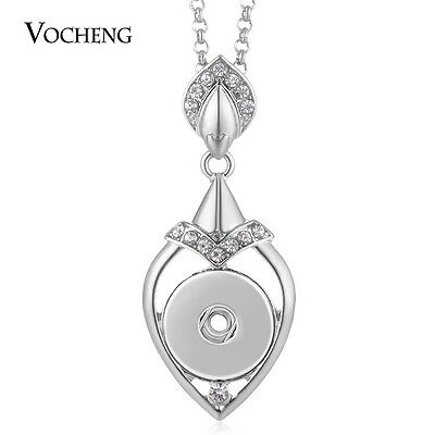 10pcs/lot 18mm Snap Jewelry Chunk Love Necklace Stainless Steel Chain NN-569*10