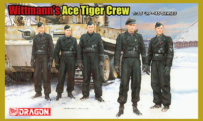DR 6831 1/35 Dragon Wittman´s Ace Tiger Crew