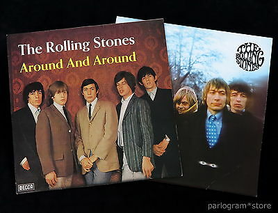 Rolling Stones 2 x *MINT* German Decca LPs - Around & Around/Between The Buttons