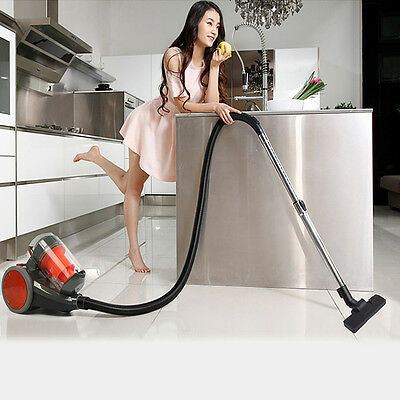 2800W Bagless Vacuum Cleaner Cyclone Filtration System 2 Brush Water Wash 50Hz