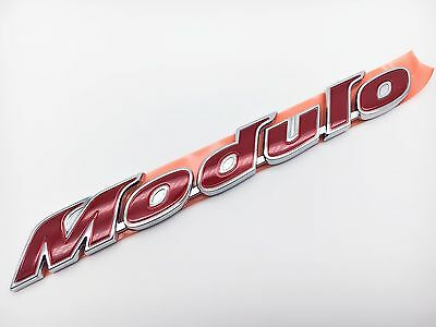 Genuine Oem Modulo Red Emblem Badge For Accord Civic Crv Jazz Hrv Odyssey Tsx